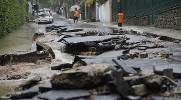 Banjir Parah di Brasil