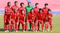 Martapura FC harus TC dan uji coba jelang Liga 2 2020 di Pulau Jawa, karena paparan COVID-19 di Kalsel masih tinggi. (Bola.com/Gatot Susetyo)