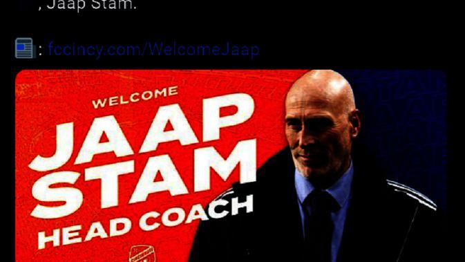 Jaap Stam. (Dok. Twitter/FC Cincinnati)