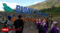 Suasana di sekitar bukit telettubies, Bromo, Probolinggo. (Times Indonesia/Happy L. Tuansyah)