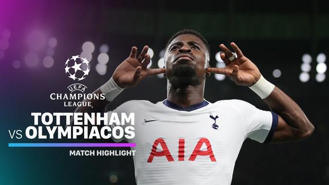 Berita video highlights matchday 5 Grup B Liga Champions 2019-2020, Tottenham Hotspur vs Olympiakos yang berakhir dengan skor 4-2, Selasa (26/11/2019).