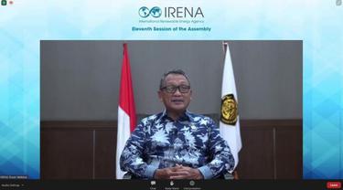 Hadiri IRENA 11th Session Assembly, Menteri ESDM Tekanan Pemanfaatan Biodiesel