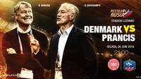 Prediksi Denmark vs Prancis (Liputan6.com/Trie yas)
