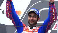 7. Danilo Petrucci (Pramac Racing) - 95 Poin. (AFP/Marco Bertorello)