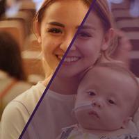 Joanna Alexandra dan Raditya Oloan penuh semangat dan tetap tegar, meski anaknya, Ziona Eden Alexandra, Zio,  mengidap penyakit penyakit genetik langka yang mempengaruhi tulang.