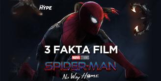 Apa saja fakta-fakta di balik film terbaru Spider Man: No Way Home? Yuk, kita cek video di atas!