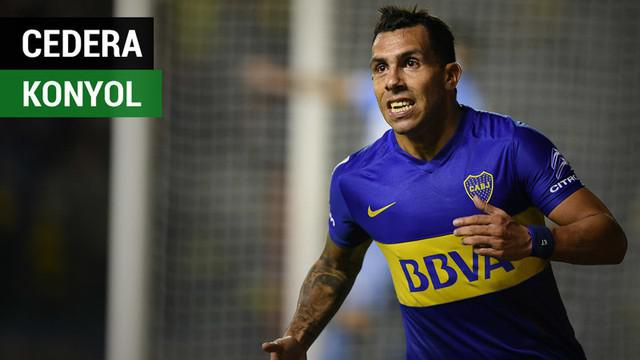 Berita video mantan striker Manchester United dan Juventus, Carlos Tevez, mengalami cedera saat bermain sepak bola di penjara. Bagaimana kisahnya?
