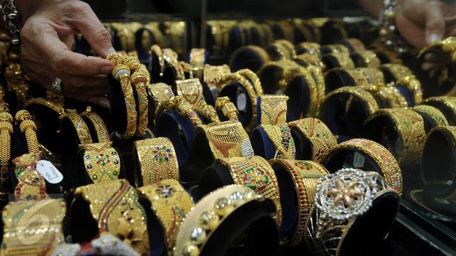 Jelang Akhir Pekan Harga Emas Antam Susut Rp 3000 Per Gram