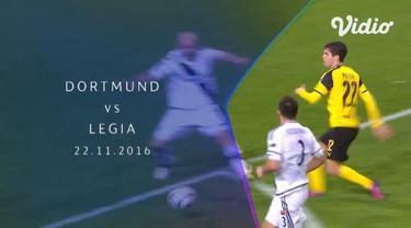Berita video flashback Liga Champions 2016-2017 ketika Borussia Dortmund mengalahkan Legia Warszawa dengan 12 gol tercipta pada 22 November 2016.