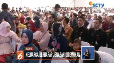 Sebanyak 600 orang keluarga korban hadir yang akan dialokasikan menjadi dua tempat, yaitu di KRI Banda Aceh dan KRI Banjarmasin.