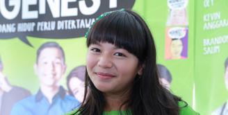 Sejak usianya enam tahun, Amel Carla sudah menekuni dunia hiburan. Ia  tampil sebagai pemeran pembantu di sitkom 'Suami-suami Takut Istri'. (Galih W Satria/Bintang.com)