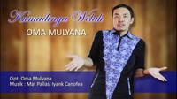 Oma Mulyana melejit di Youtube lewat lagu Kumadinya Welah. (Huyogo Simbolon)