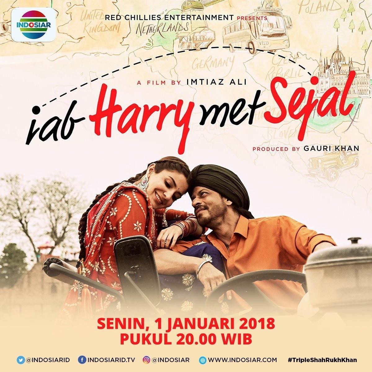 Film Shah Rukh Khan, Jab Harry Met Sejal.