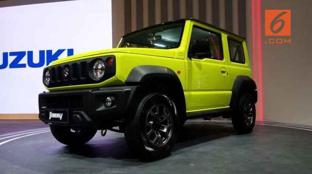 Akhirnya harga Suzuki Jimny dikeluarkan di GIIAS 2019, tembus Rp300 juta. (Dian Tami/Liputan6.com)