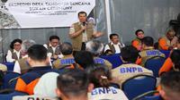 Tim Ekspedisi Desa Tangguh Bencana (Destana) Tsunami BNPB berhasil menjelajahi 32 Hari, 512 Desa, di 24 Kabupaten/Kota sejak dimulai 12 Juli 2019 lalu dan memasuki wilayah Serang, Banten (13/8/2019) (Dok Badan Nasional Penanggulangan Bencana/BNPB)