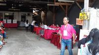 Antusiasme warga Jalan Bakti, RT 04 RW 08, Cililitan, Jakarta Timur dalam menggunakan hak suaranya pada Pemilu 2019 terlihat tinggi.