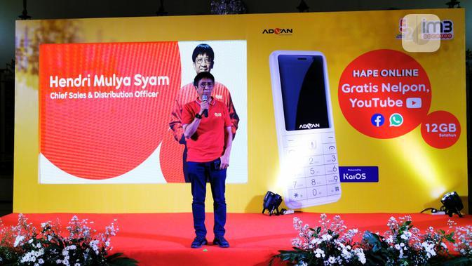 Chief Sales & Distribution Officer Indosat Ooredoo, Hendri Mulya Syam. Liputan6.com/Mochamad Wahyu Hidayat