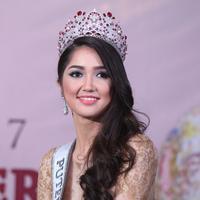 Sonia Fergina, Putri Indonesia 2018. (Nurwahyunan/Bintang.com).