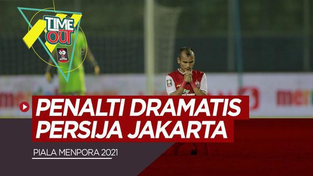 Berita Video Highlights Semifinal Piala Menpora 2021, Persib dan Persija Menuju Final