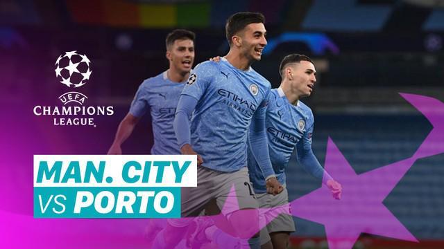 Berita video gol-gol dan beragam peluang yang tercipta pada laga grup C Liga Champions 2020/2021 antara Manchester City melawan Porto yang berakhir dengan skor 3-1, Kamis (22/10/2020) dinihari WIB.