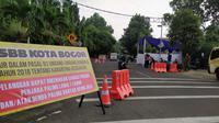 Bogor telah memberlakukan Pembatasan Sosial Berskala Besar (PSBB). (Liputan6.com/Achmad Sudarno)