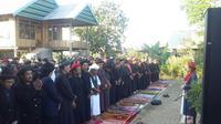 Jemaah An-Nadzir laksanakan salat Iduladha 1439 H hari ini (Liputan6.com/ Eka Hakim)