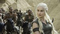 Sophie Turner telah mengonfirrmasi bahwa season final Game of Thrones akan tayang pada tahun 2019. Ia pun tak sabar menunggunya. (Digital Spy)