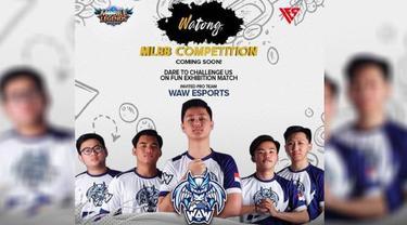 Watong MLBB Competition. Dok: Watong