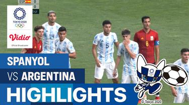 Berita Video Timnas Spnayol Vs Argentina (1-1) pada Selasa (28/7/2020)