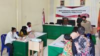 Sidang terbuka permohanan sengketa Pilkada di Bawaslu Mamuju (Foto: Liputan6.com/Abdul Rajab Umar)