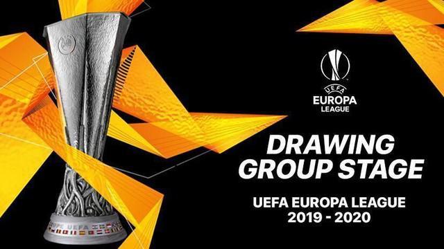 Berita video drawing fase grup Liga Europa 2019-2020 yang digelar di Monaco, Jumat (30/8/2019).