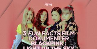 Apa saja fakta seru di balik film dokumenter BLACKPINK: Light Up The Sky ? Yuk, kita cek video di atas!