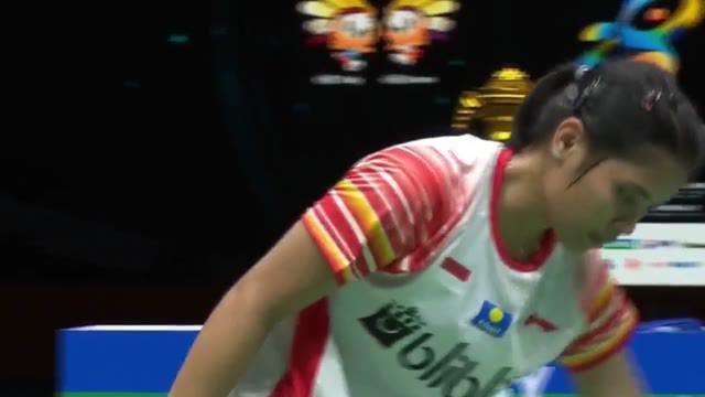 Berita video highlights pertandingan antara Gregoria Mariska Tunjung harus mengakui keunggulan dari Akane Yamaguchi dengan skor 13-21, 13-21 di Piala Sudirman 2019.