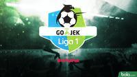 Logo Liga 1 GoJek (Bola.com/Adreanus Titus)