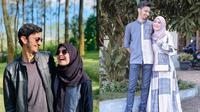 Momen Manis Vebby Palwinta dan Razi Bawazier Setelah Menikah. (Sumber: Instagram.com/razibawazier dan Instagram.com/vebbypalwinta)