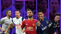 Premier League - 5 Gelandang Terbaik Liga Inggris 2020/2021 (Bola.com/Adreanus Titus)