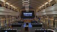 Toko Terbesar Samsung di India. Dok: CNET