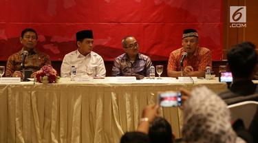 BNPT menggelar acara pertemuan antara para mantan teroris dengan korban teror.