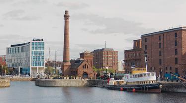 Ilustrasi Liverpool, Inggris