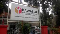Kantor Bawaslu Garut Jalan Pramuka, Garut Kota, Jawa Barat (Liputan6.com/Jayadi Supriadin)