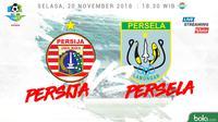 Liga 1 2018 Persija Jakarta Vs Persela Lamongan (Bola.com/Adreanus Titus)