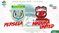 Liga 1 2018 Persela Lamongan Vs Madura United (Bola.com/Adreanus Titus)