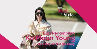 Meski serialnya telah berakhir di 2019 lalu, style dan fashion Ko Mun Yeong sebagai pemeran utama IT'S OKAY TO NOT BE OKAY tetep mencuri perhatian. Curi inspirasi dari si cantik ini yuk!
