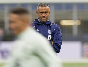 Foto: Aroma Balas Dendam Jelang Laga Spanyol Kontra Italia di Semifinal UEFA Nations League