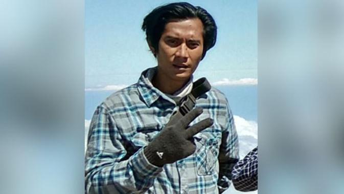 Muhammad Ainul Taksim, pendaki asal Makassar, Sulawesi Selatan, yang meninggal di Gunung Rinjani akibat gempa Lombok berkekuatan 6,4 skala Richter, Minggu, 29 Juli 2018. (Jawa Pos Photo)