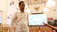 Presiden Joko Widodo atau Jokowi (Liputan6.com/Angga Yuniar)