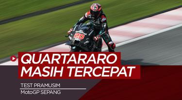Berita Video Fabio Quartararo Kembali Finish Tercepat di Tes Pramusim MotoGP Sepang