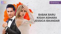 Jessica Iskandar dan Richard Kyle (Foto: Bintang Pictures/Desain Grafis: Muhammad Iqbal Nurfajri/Bintang.com)