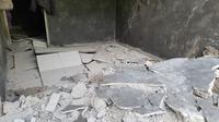 Bencana tanah bergerak di Dusun Pagersari, Desa Tumanggal, Purbalingga merusak puluhan rumah dan paksa warga mengungsi. (Foto: Liputan6.com/Dok. BPBD Purbalingga)