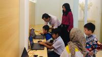 Coding Bee Academy Edukasi Masyarakat tentang Coding untuk Anak-Anak. Kredit: Coding Bee Academy
